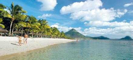 Sugar Beach resort. Flic en Flac, Mauritius.