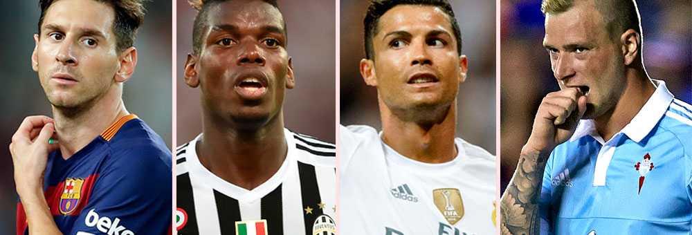 Messi, Pogba, Ronaldo och Guidetti