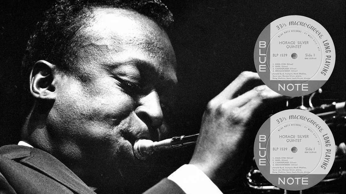 Miles Davis var en av alla jazzikoner på Blue note records.