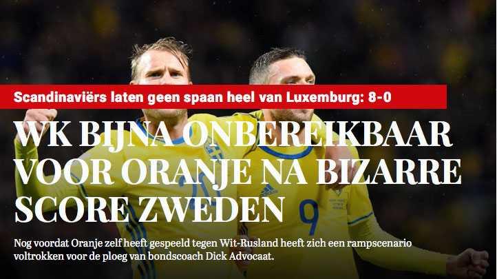 Skämdump från telegraaf.nl