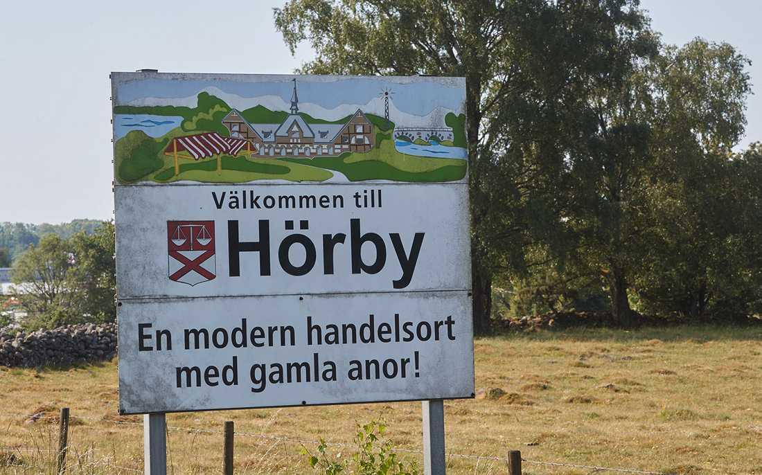 SD fick drygt 35 procent av rösterna i skånska Hörby.