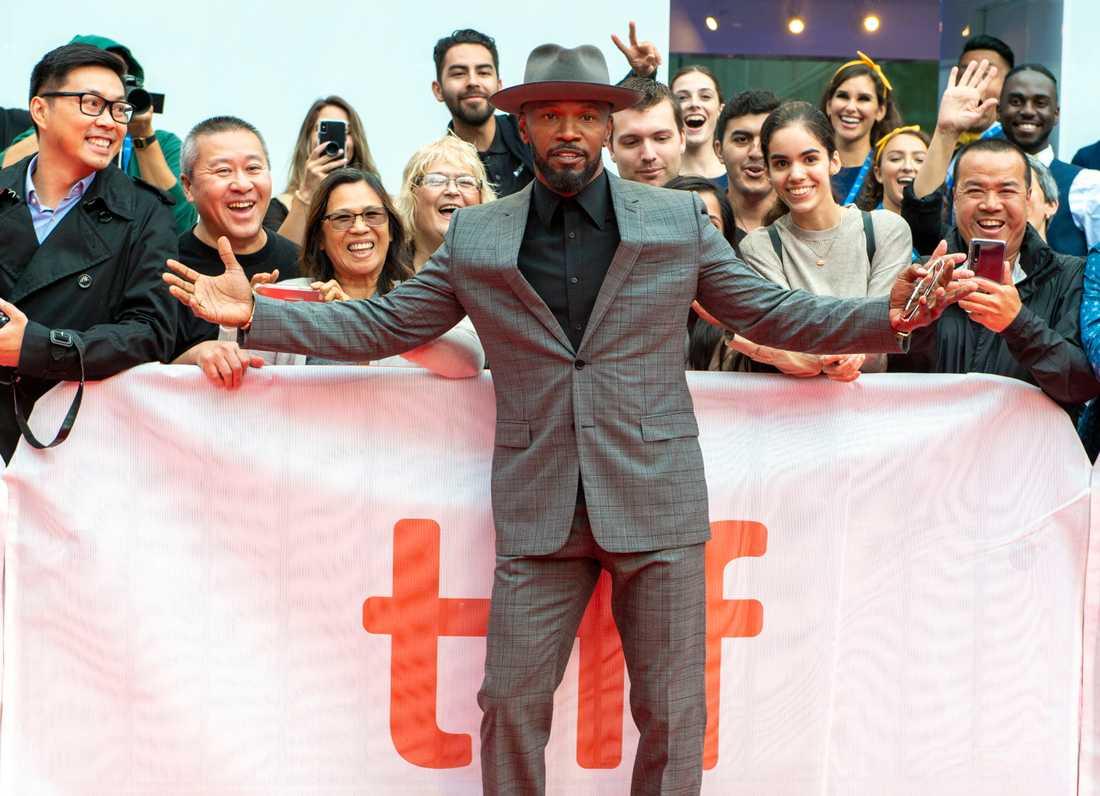 """Skådespelaren Jamie Foxx spelar mot Brie Larson i omtalade filmen """"Just mercy""""."""