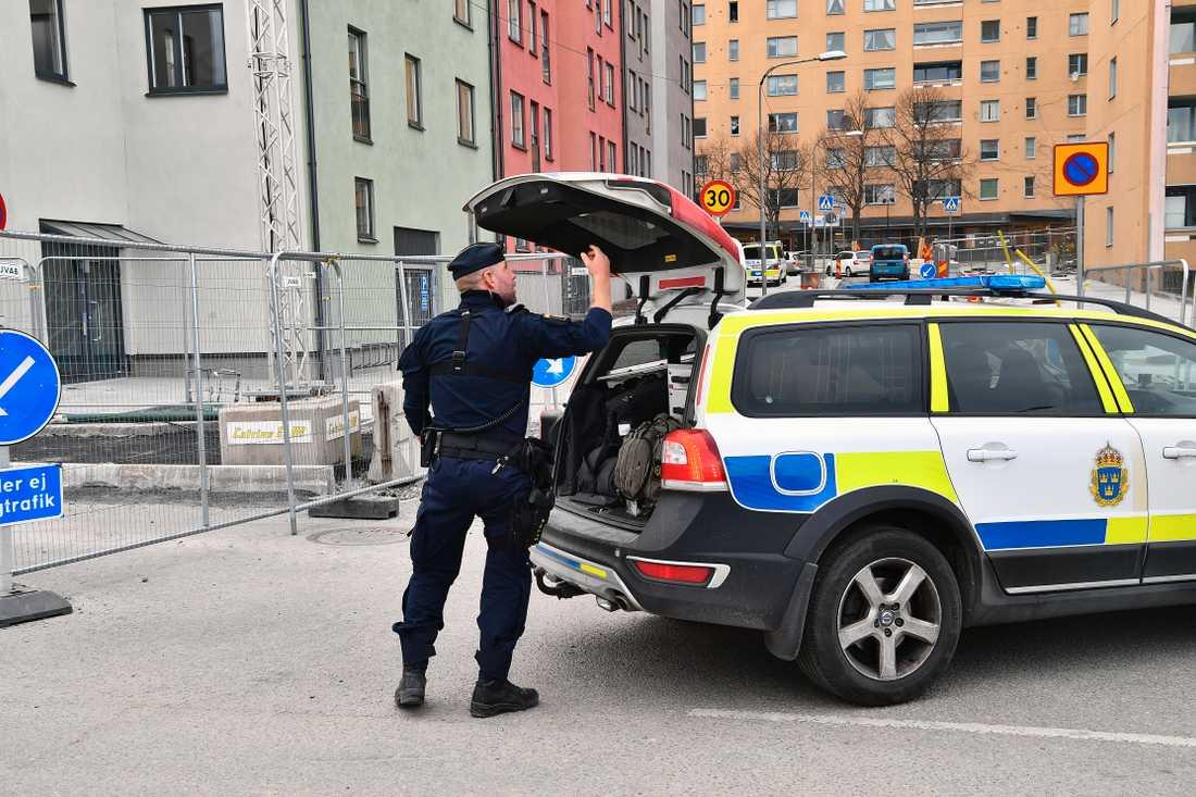 Polisen menar att det handlar om en intern uppgörelse i kriminella kretsar.