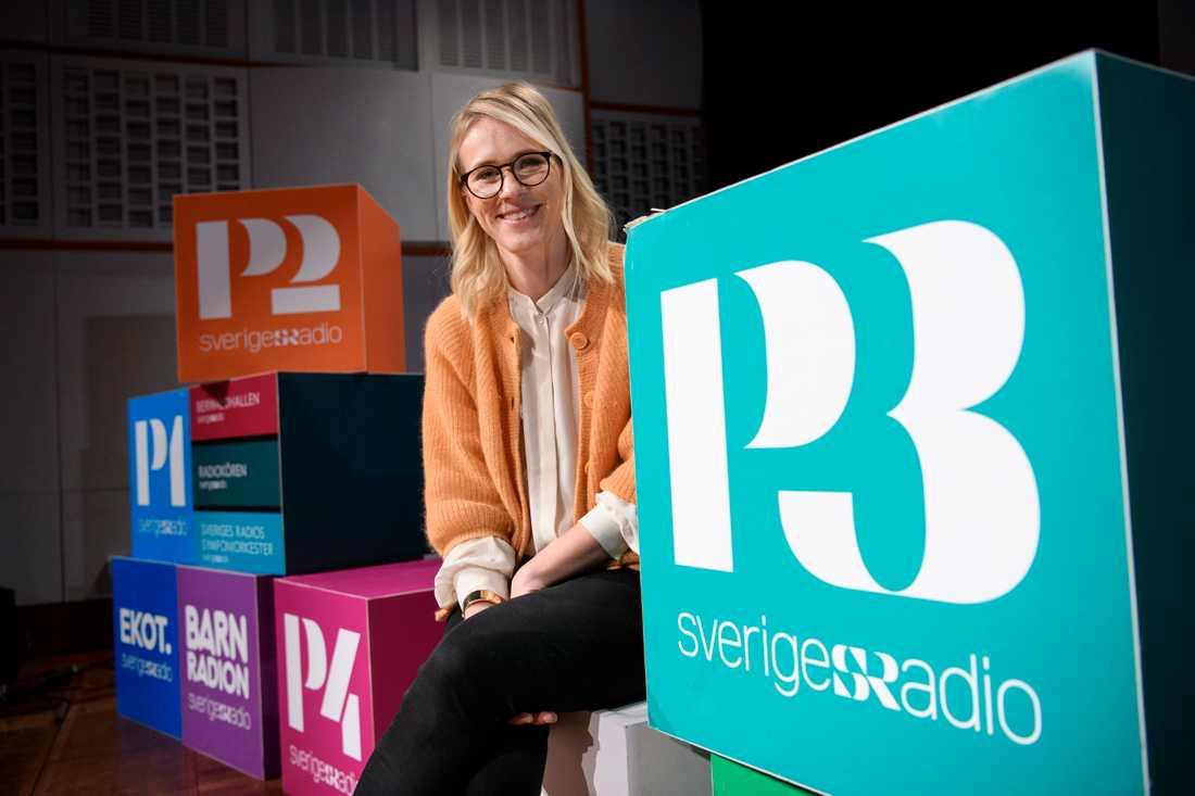 Cajsa Lindberg, biträdande programdirektör på Sveriges Radio. Arkivbild.