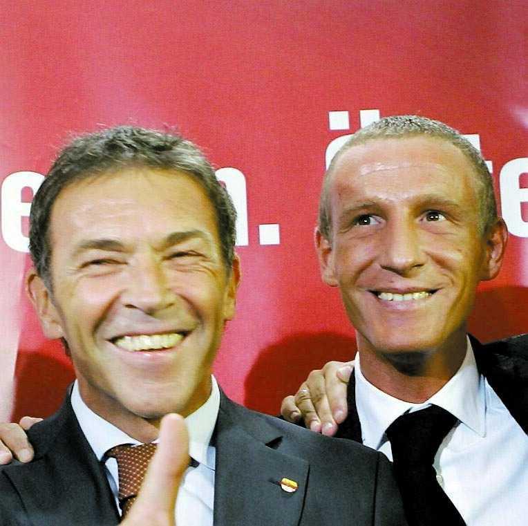 frun visste Jörg Haider och Stefan Petzner fotograferades tillsammans under ett valmöte den 28 september i år.