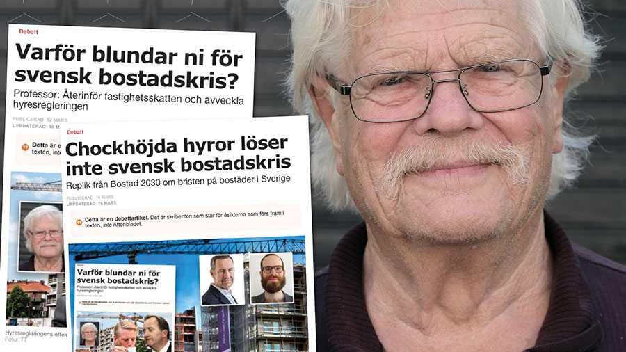 I de tre storstäderna står en miljon i bostadsköerna. De som är utan kötid får i Stockholm vänta tio till tjugo år får att få en hyresrätt. Är det jämlikt? Slutreplik från Roland Andersson.