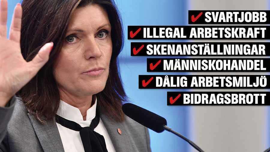 I budgetpropositionen för 2021 föreslår regeringspartierna, Centerpartiet och Liberalerna en kraftfull förstärkning av resurserna för att bekämpa arbetslivskriminalitet. Det rör sig om 30 miljoner kronor årligen, skriver Eva Nordmark.
