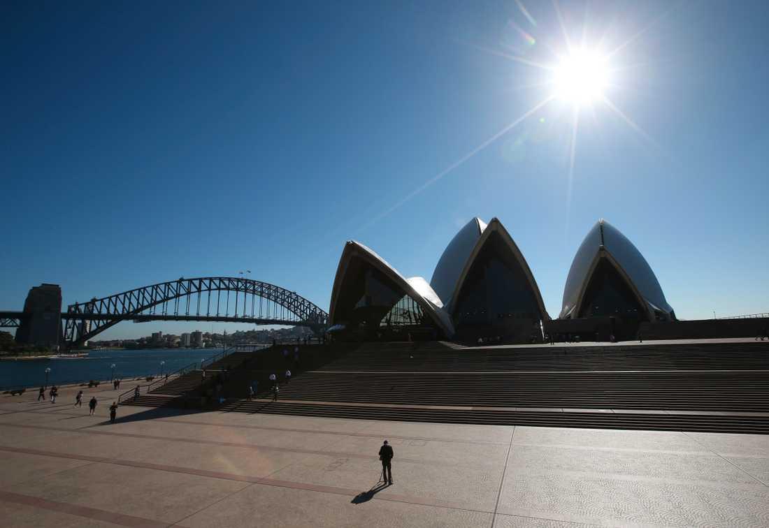 Runt 130 människor som stigit i land från ett kryssningsfartyg i Sydney har visat sig vara smittade av coronaviruset. Arkivbild.