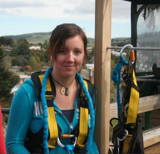 Mia Spillman är i hemkarantän liksom resten av Nya Zeelands befolkning.