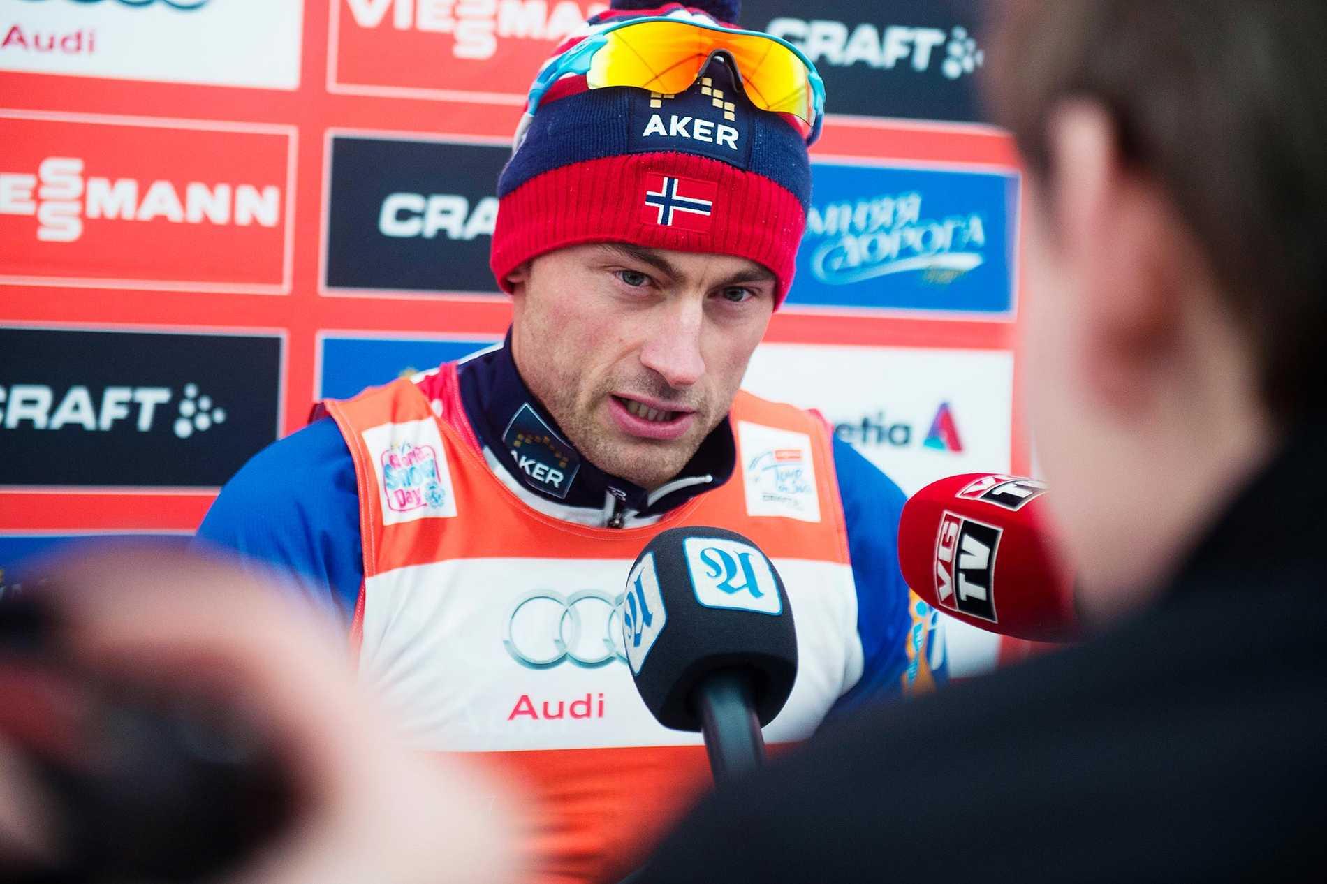 Petter Northug är oddsfavorit på att slå Sverige - ensam.