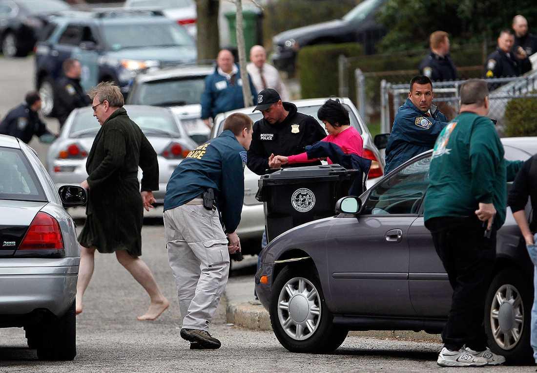 Boende i Watertown fick evakueras i jakten på Dzjochar.