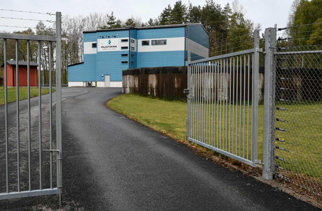 Brantafors vattenverk i Kallinge stängdes i mitten av december 2013 när det stod klart att det fanns höga halter av PFAS-ämnen i dricksvattnet. Arkivbild.