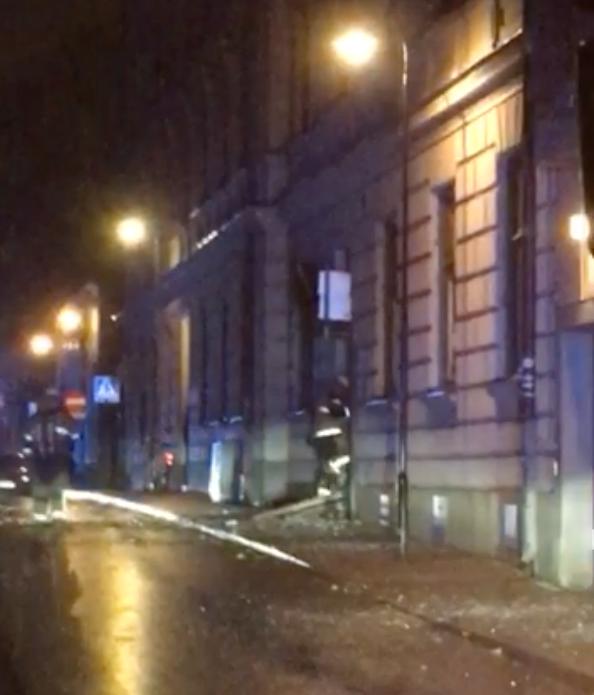 """Explosion på Södermalm: """"Hela hotellet skakade"""""""