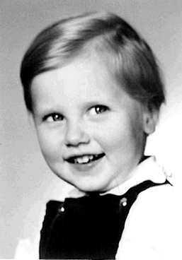 Prästsonen Lars-Magnus Ohly fotograferad vid tre års ålder.