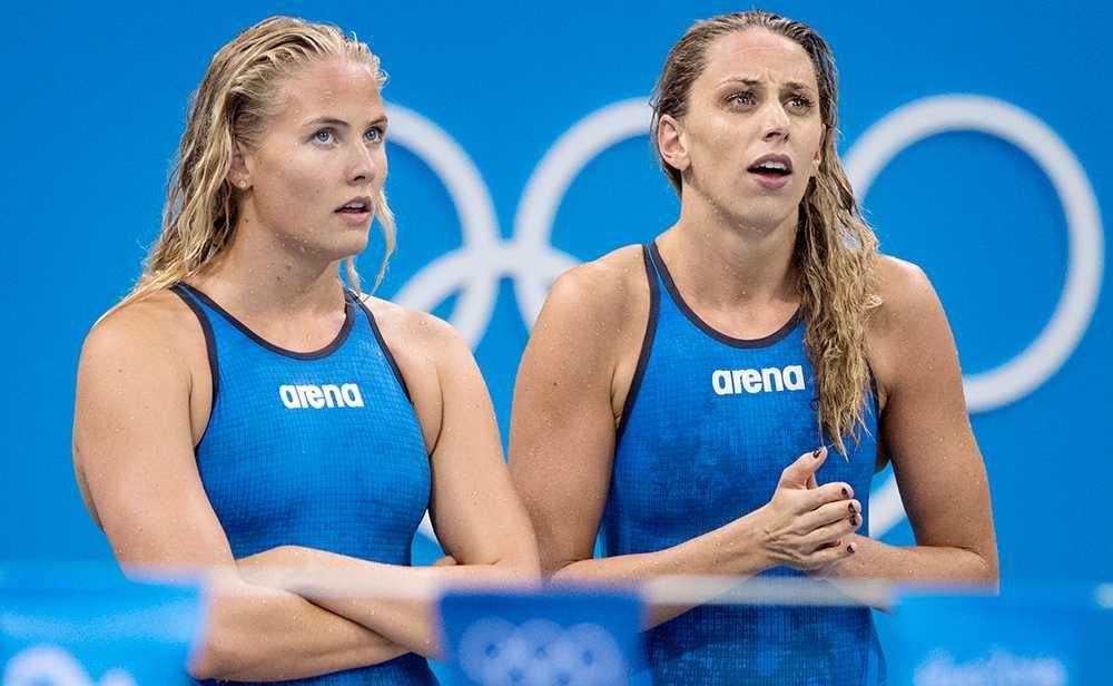 Michelel Coleman, tv, och Jennie Johansson är två av svenska landslagets mest meriterade.
