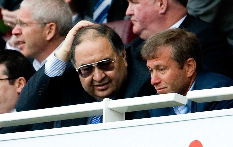 Alisjer Usmanov och Roman Abramovitj.