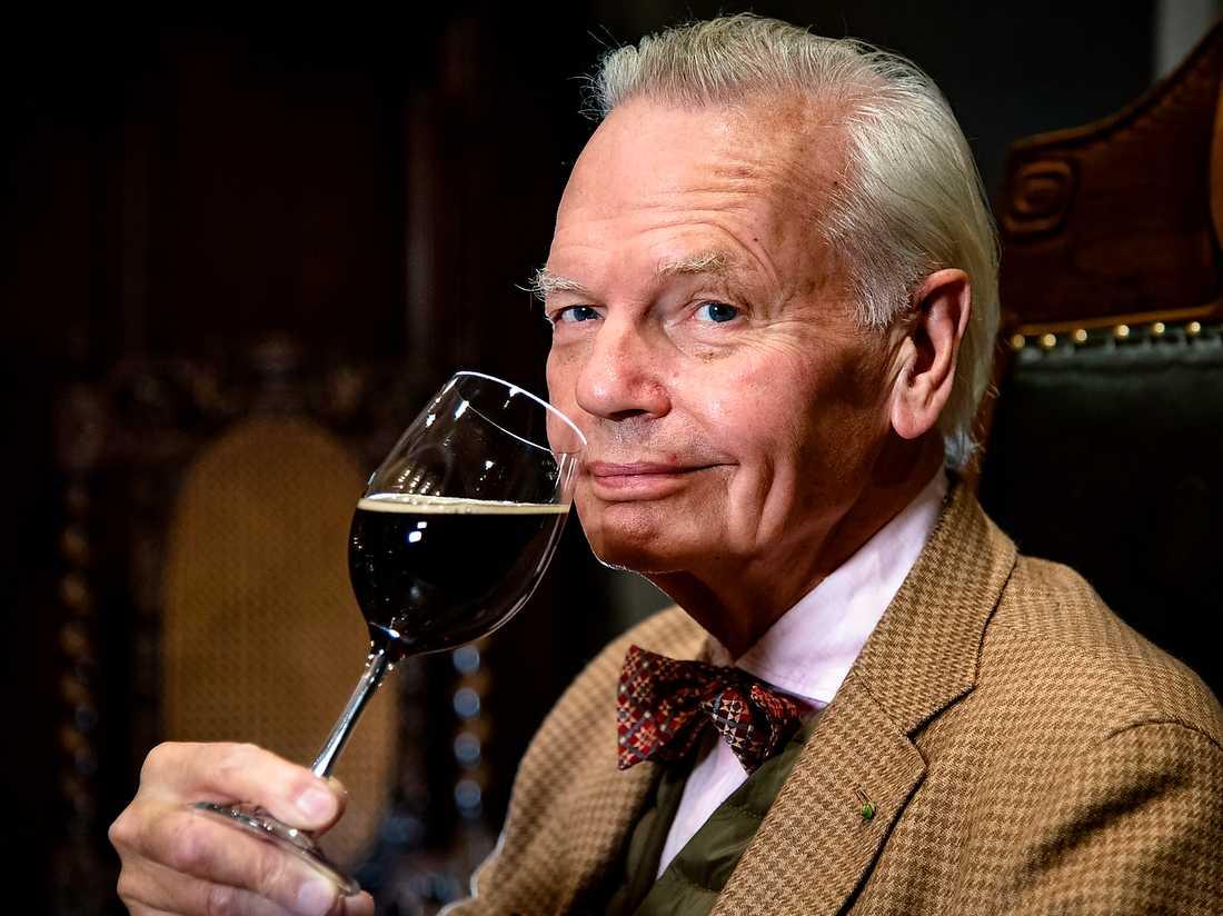 Carl Jan Granqvist, krögare och vinkännare.