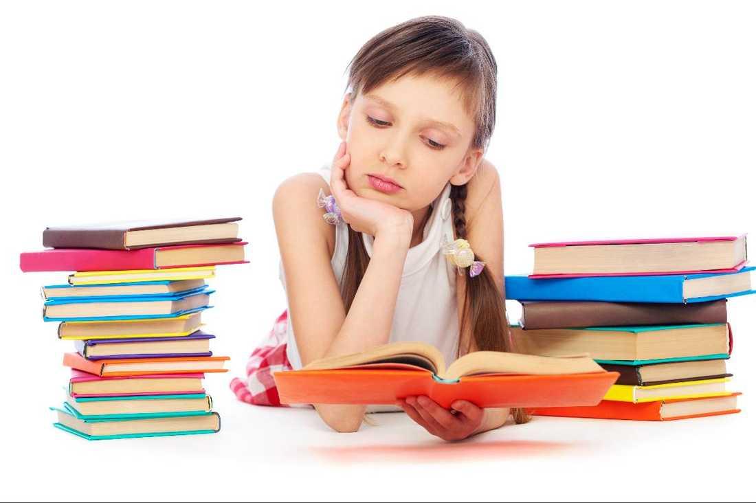 Svenska barn läser allt mindre.