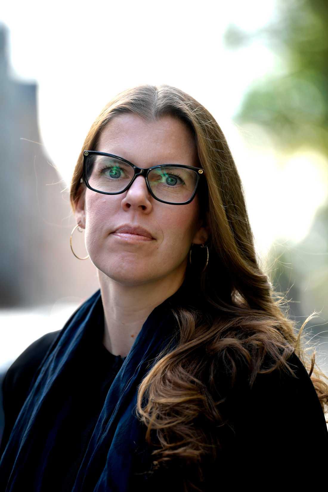 """""""Utan datalagring blir det svårt för polisen att utföra sitt uppdrag"""", säger Anna Olander Selldén, jurist på polisens Nationella operativa avdelning."""