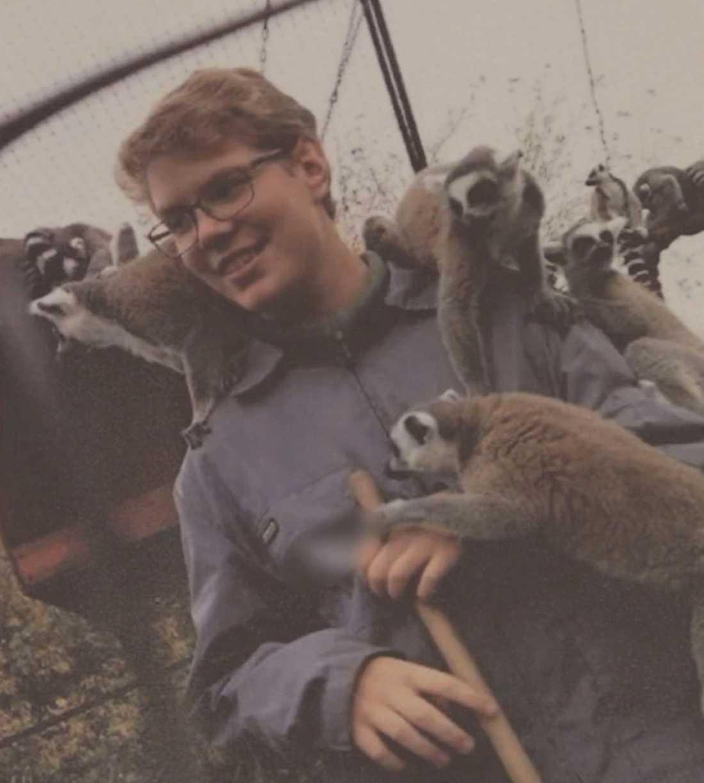 Robert Lindvall, 18, dödades av en brunbjörn i Orsa djurpark.