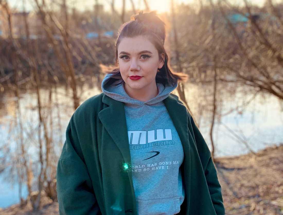 """Amanda, 26, var med i ett avsnitt av """"Lyxfällan"""" som sändes i februari förra året."""