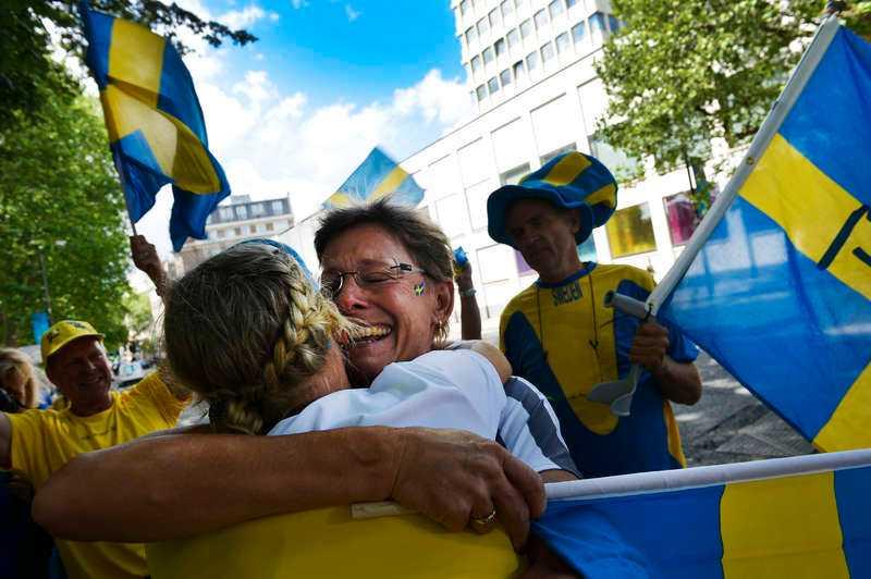 Lisa Nordéns mamma Kerstin har stöttat dottern hela vägen i satsningen som i går ledde fram till ett OS-silver i triathlon och var en av de första att gratulera till bragden.