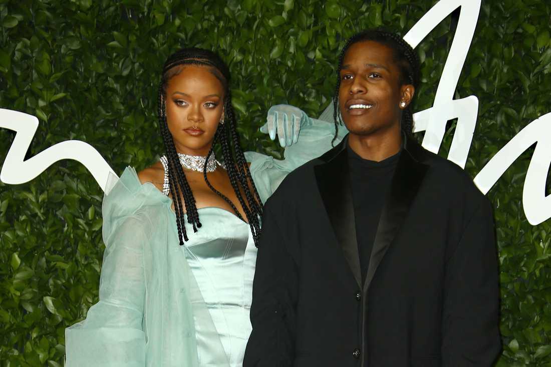 Romansryktena cirkulerar kring Rihanna och ASAP Rocky.