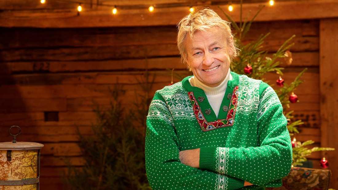 Lars Lerin är årets julvärd.