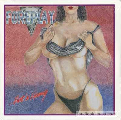 Foreplay - Hot n Heavy  Här har den skivomslagsritande hårdrockaren på något sätt gjort huvudet mycket mindre i proportion till kroppen.
