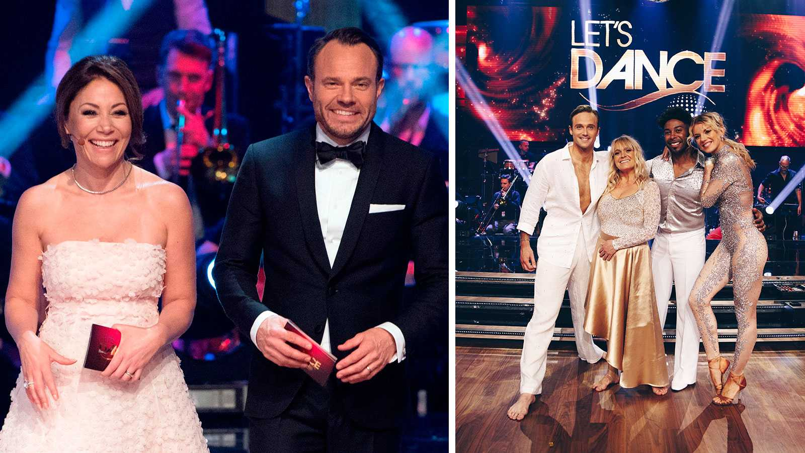"""David Hellenius och Tilde de Paula Eby slutar i """"Let's dance"""""""
