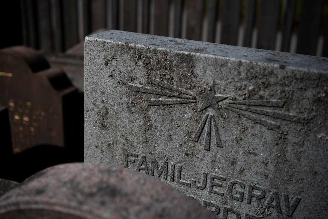 En kyrkogård i skånska Hörby har utsatts för omfattande vandalisering. Arkivbild.