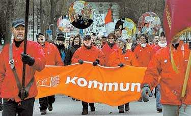 När Kommunal strejkade för två år sedan var lägstalönerna en av de viktigaste frågorna.