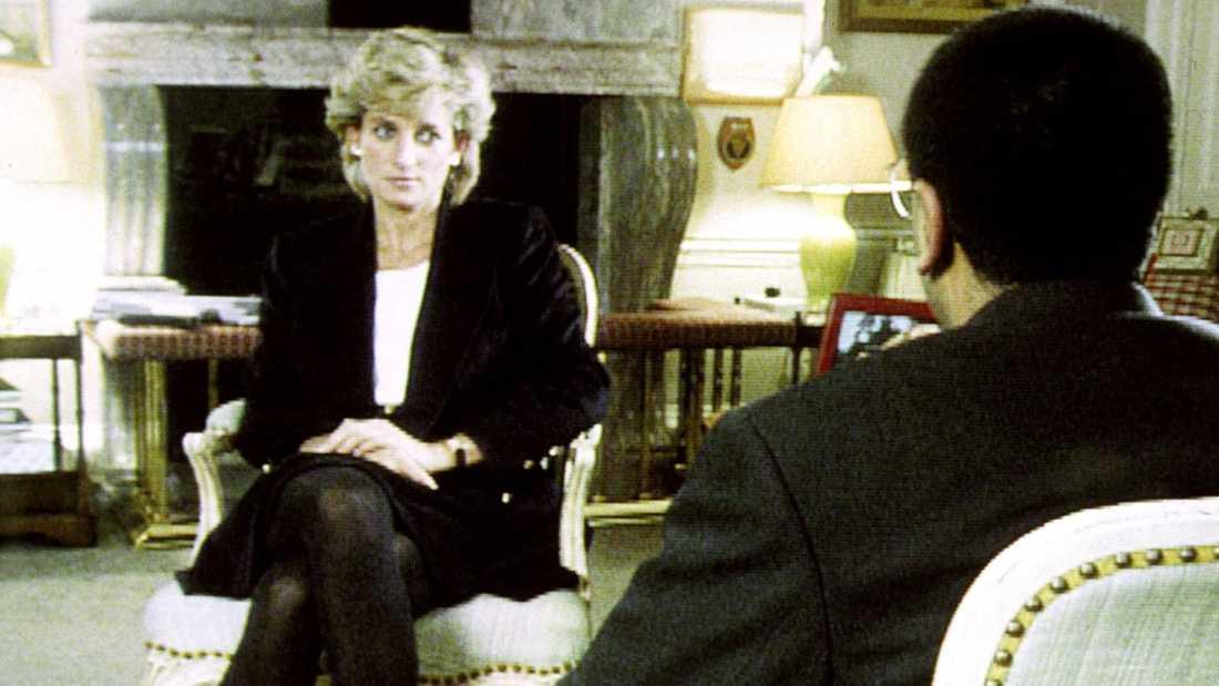 Prinsessan Diana i intervjun med Martin Bashir.