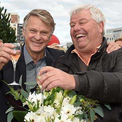 Lennart Ågren och Roger Walmann.