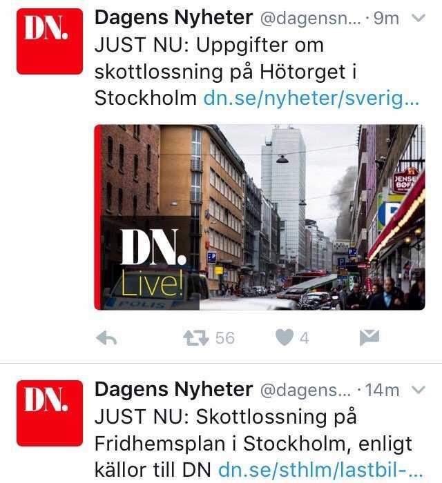 Visade sig inte stämma, men hade DN fog för publiceringen i allvarligt läge där medborgare var i fara?