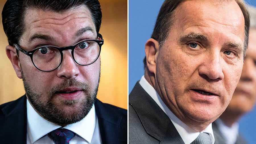 Stefan Löfven – här drar vi sverigedemokrater en röd linje. Din hatretorik är oanständig. Be om ursäkt till kommunismens offer, skriver Jimmie Åkesson.