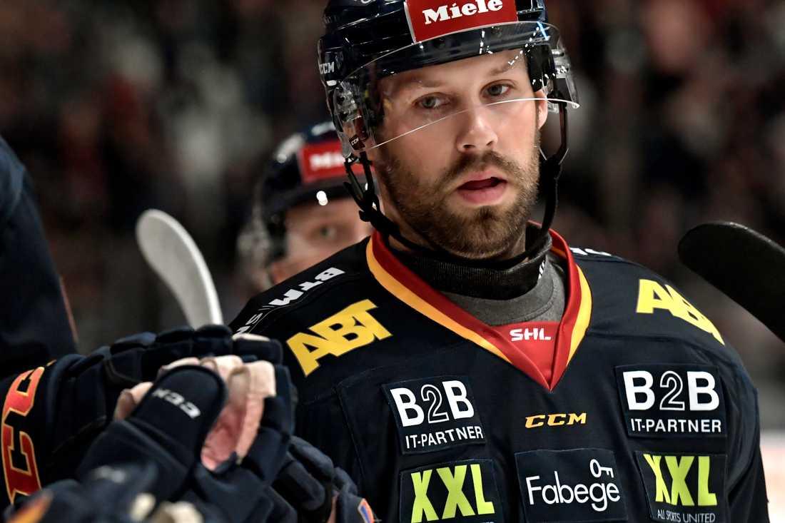 Dick Axelsson i Djurgårdströjan