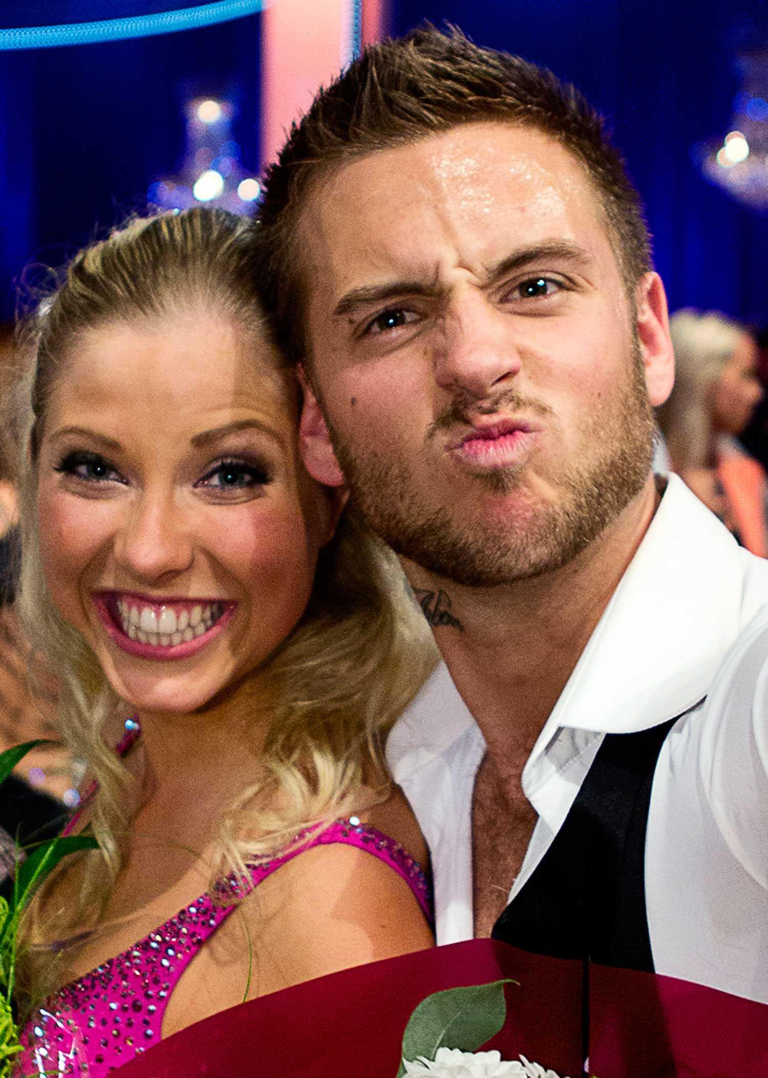 Vinnare Anton Hysén och danspartnern Sigrid Bernson.