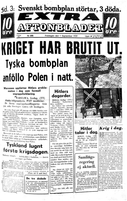1939: ANDRA VÄRLDSKRIGET