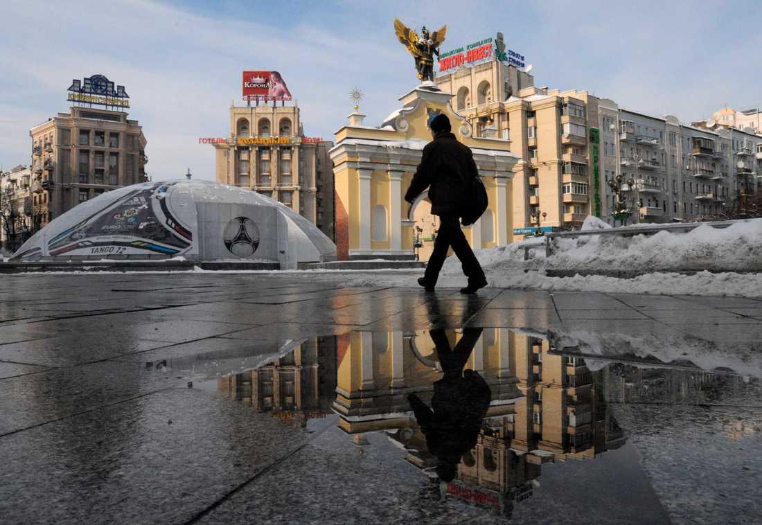 Maidan i Kiev.