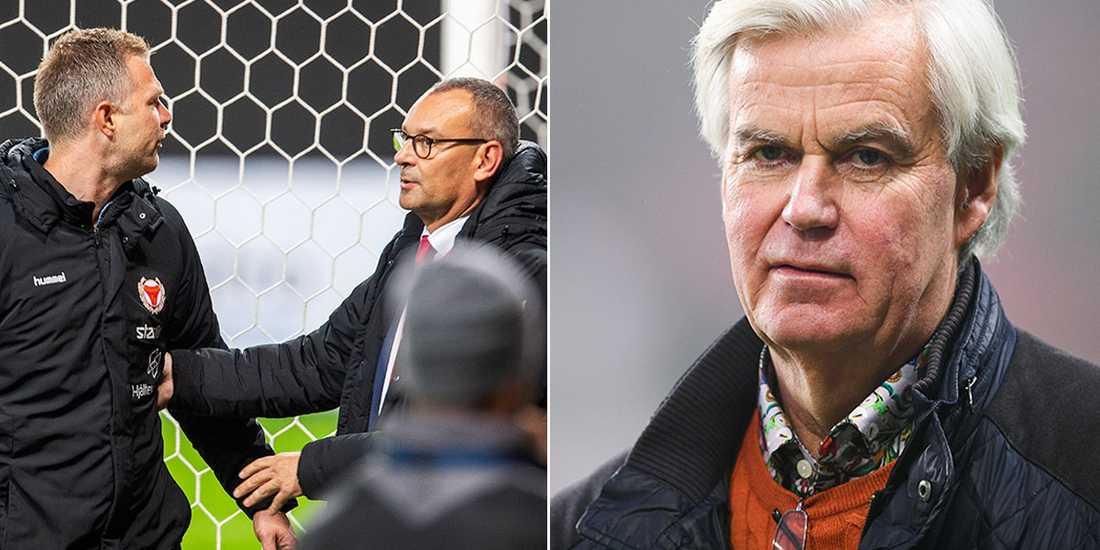 Nanne Bergstrand kommenterar nu KFF-tränarens beslut.