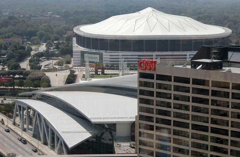 Philips arena i Atlanta, USA.