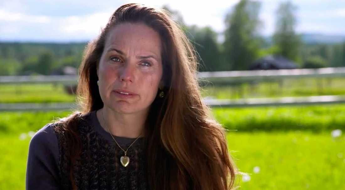 """Sigrid Bergåkra i """"Bonde söker fru"""" 2016."""