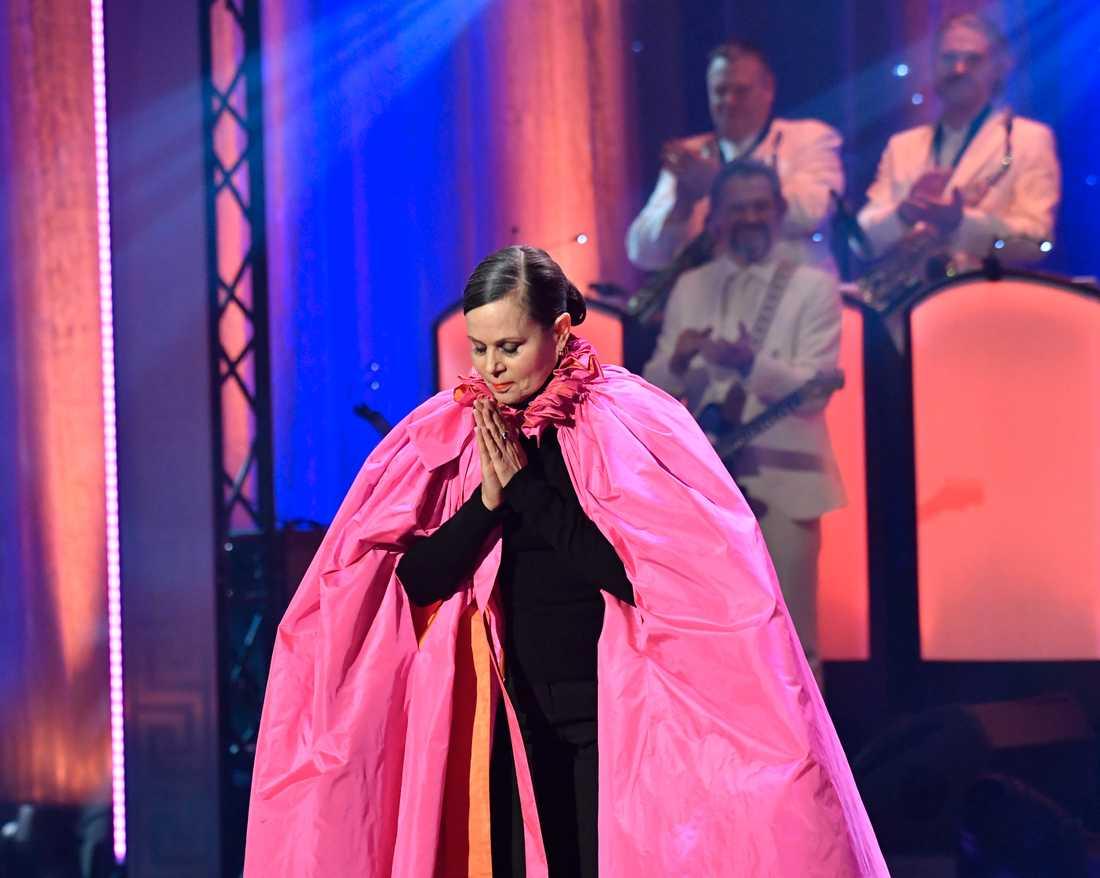 I februari i år delade Sara Danius ut pris i kategorin årets HBTQ-vän på QX-galan på Cirkus i Stockholm.