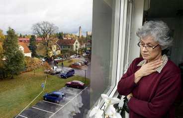 """CHOCK, SORG - OCH FRUKTAN Cecilia Båge Christensson bor nära området där dubbelmördaren slog till. """"Jag har aldrig hört något liknande, det var ett hjärtskärande och genomträngande skrik."""""""