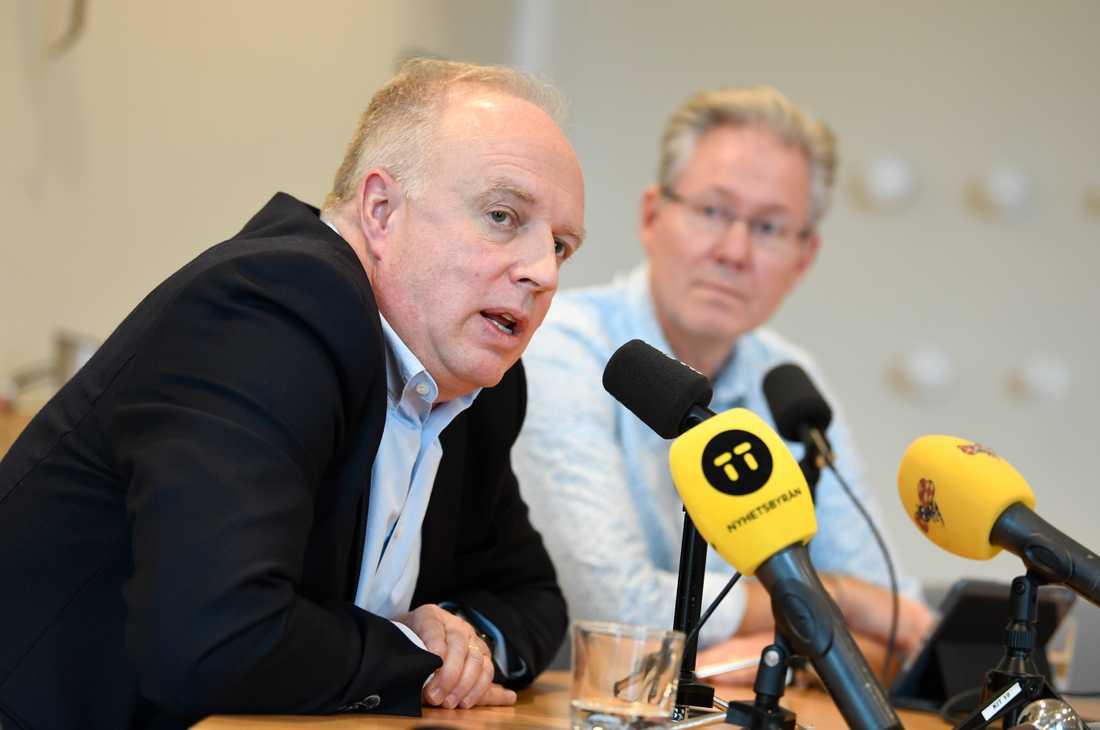 Mikael Köhler, hälso- och sjukvårdsdirektör region Uppsala.