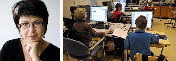 Eva-Lis Sirén, förbundsordförande i Lärarförbundet.