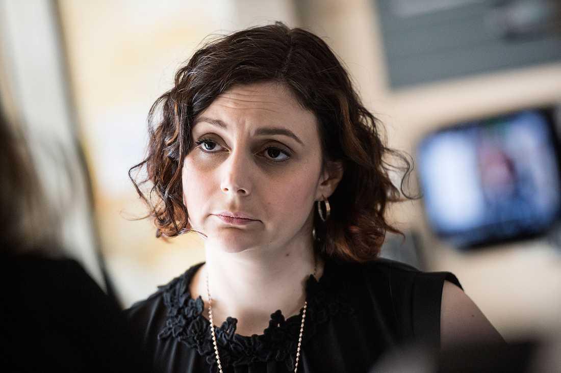 """""""Jag visste inte vilka de var"""", säger Paula Bieler (SD), riksdagsledamot."""