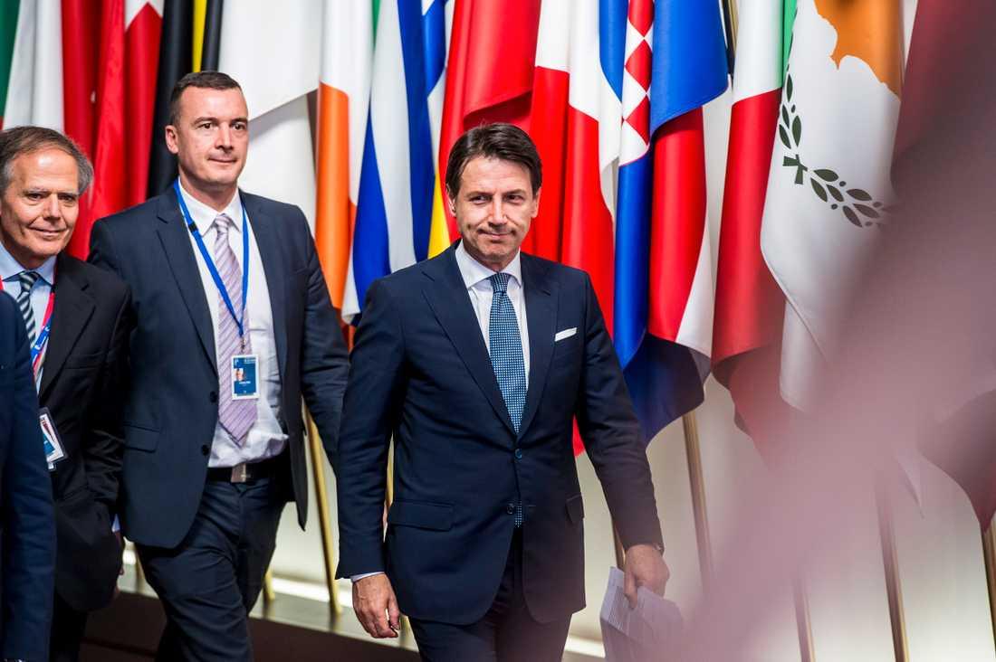 Italiens premiärminister Giuseppa Conte.