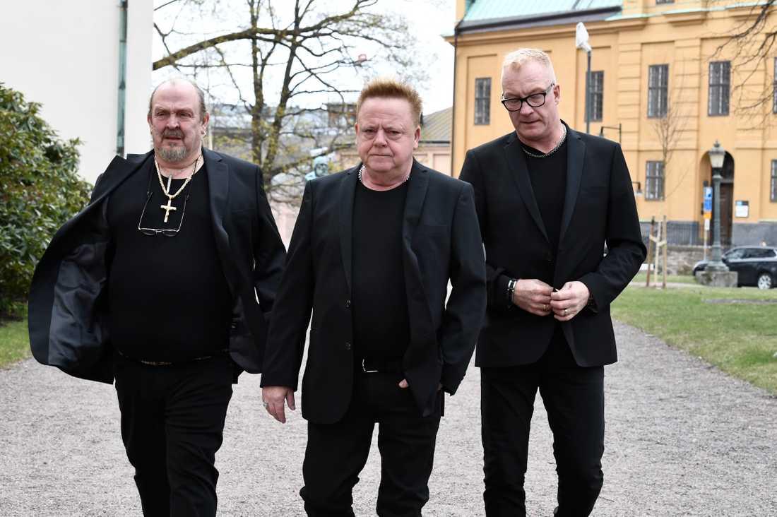 Olle Jönsson och Christer Eriksson från Lasse Stefanz.